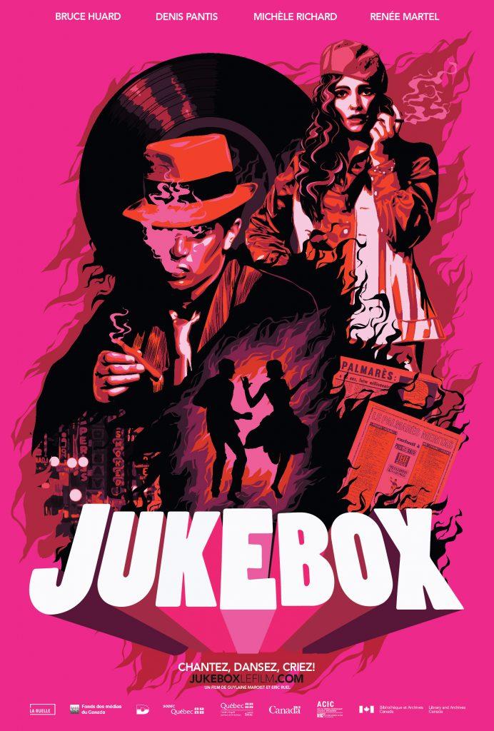 Affiche officielle web Jukebox: Un rêve américain fait au Québec